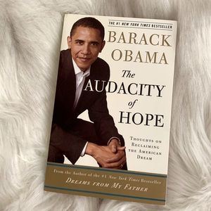 The Audacity of Hope by Barak Obama